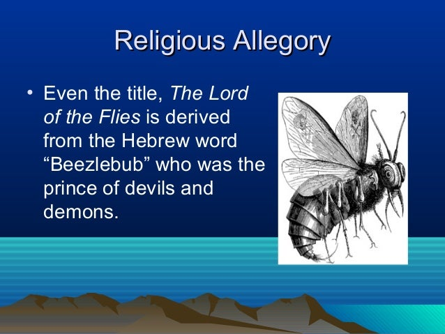 Allegory in Lord of the Flies