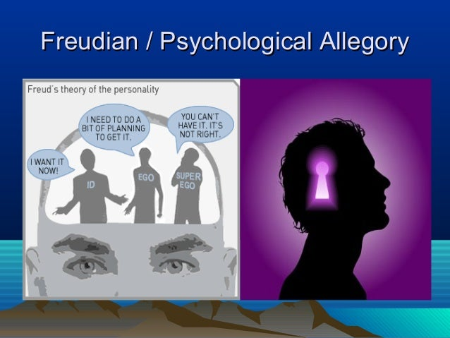 freudian allegory lord of the flies Explore the end of civilization with questions on evil, innocence, savagery, christian allegory, and freudian theory.