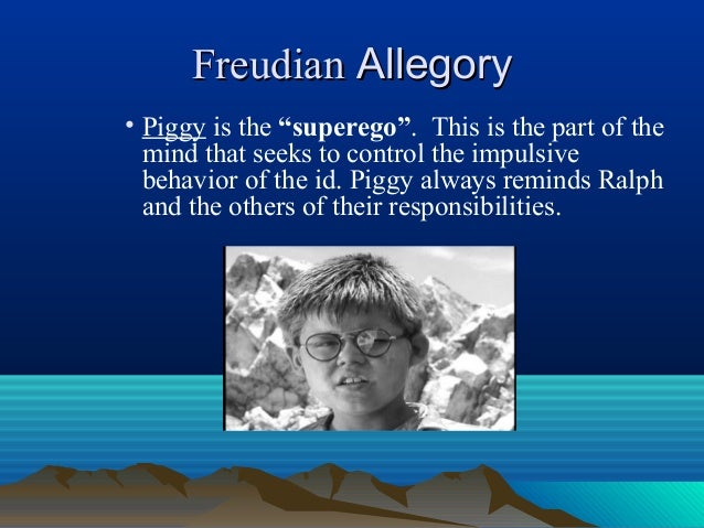 allegory in the lord of the flies
