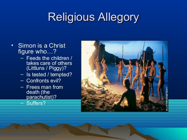 christian symbolism in lord of the flies Like many excellent works, william golding's novel, the lord of the flies can be read on many different levels it is possible to read the book literally, as a.