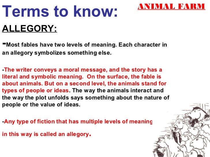 allegory fable satire rh slideshare net PowerPoint Transitions PowerPoint 2016 Guides