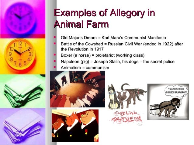 discuss animal farm as an allegory