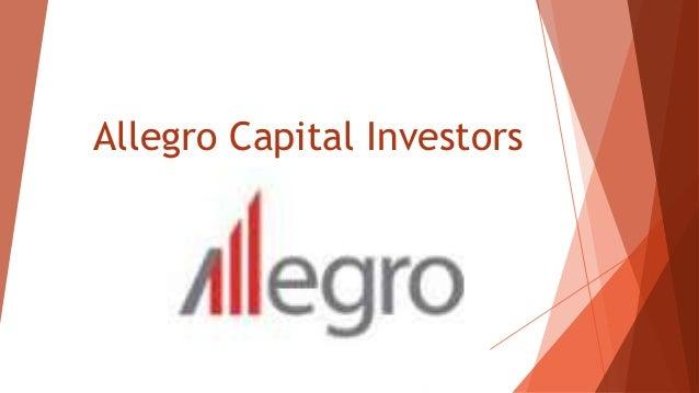 Allegro Capital Investors