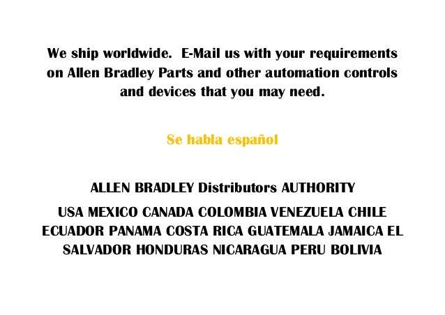 Allen bradley distributors