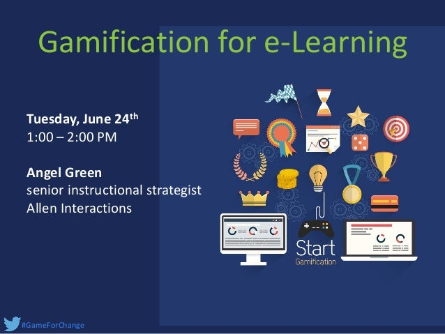 Allen interactions gamification for e learning