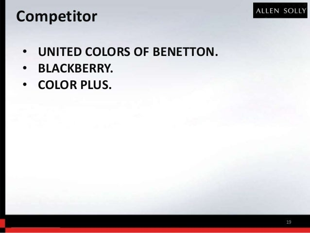 Benetton case study ppt