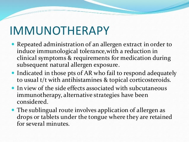 Non Allergic Rhinitis Treatment Natural
