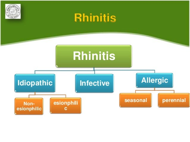 non allergic rhinitis treatment guidelines