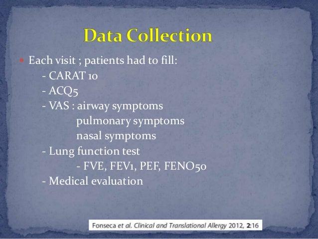 Cross sectional validation study