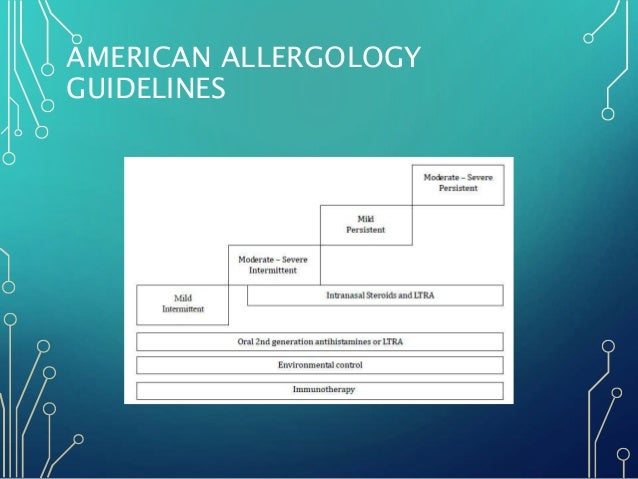 allergic rhinitis guidelines 2016 pdf