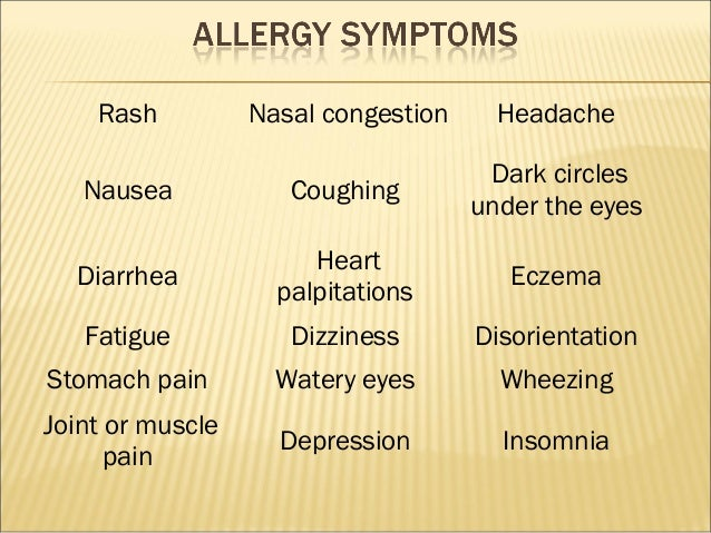 protein allergy adults