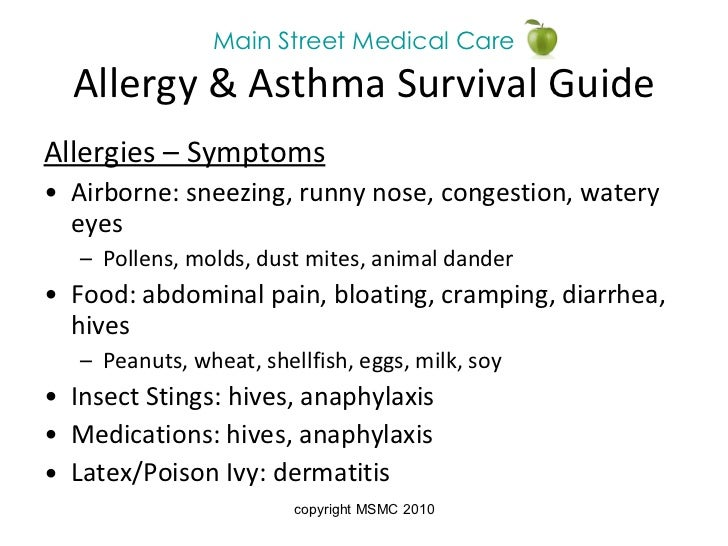 Asthma Information For Health Care Professionals