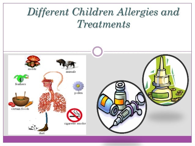Different Children Allergies and Treatments