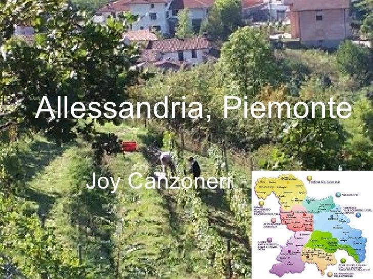 Allessandria, Piemonte Joy Canzoneri