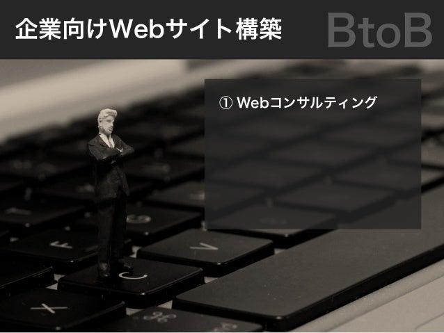 ① ソーシャルメディア運営 ② iPhone/Android/ ソーシャルアプリ提供 BtoC消費者向けWebサービス事業