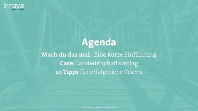 Mach du das mal! Über den (Un-)Sinn von Social Media Teams Slide 3