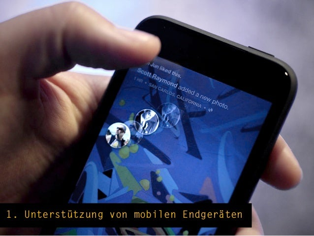Facebook ist eine mobile Plattform!600mio Benutzer verwenden FB auch mobil, 120mio exklusiv mobil.Mobile Engagement-Rate 2...