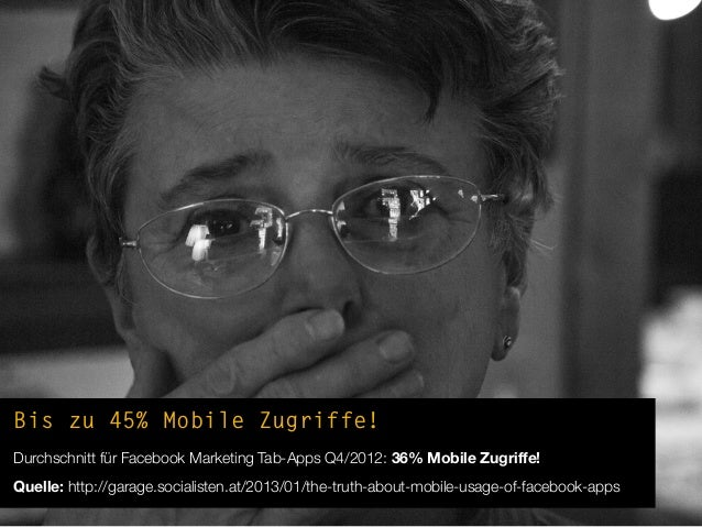 """Mobile Fail #1App gebaut, Mobile Support """"vergessen""""!Page-Post(promoted!) -führt ins Leere"""
