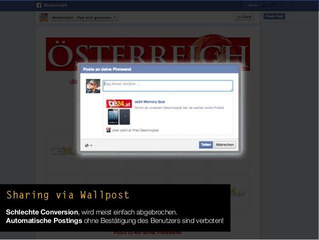 """Mobile Fail #3""""Falsche"""" (Tab-)URL gepostet!Tab-URLfunktioniertMobile nicht!"""