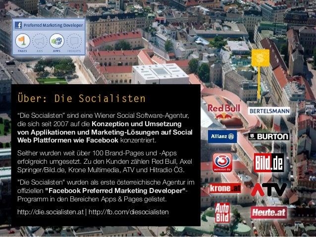 """Über: Die Socialisten""""Die Socialisten"""" sind eine Wiener Social Software-Agentur,die sich seit 2007 auf die Konzeption und ..."""