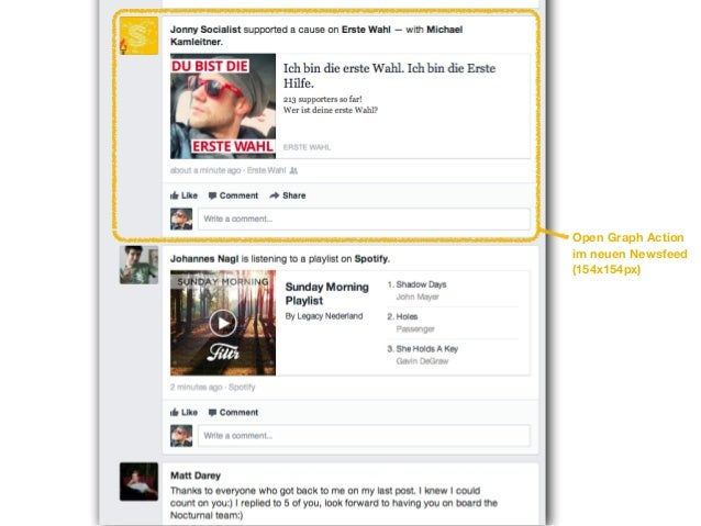 Open Graph Actionsim mobilen Newsfeed(60x60px)