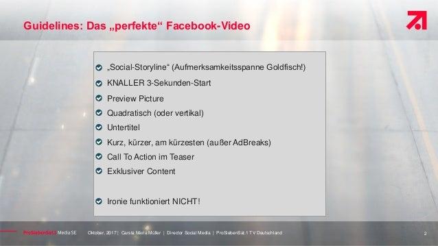 ProSiebenSat1 Video Fehler auf Facebook #AFBMC Slide 2