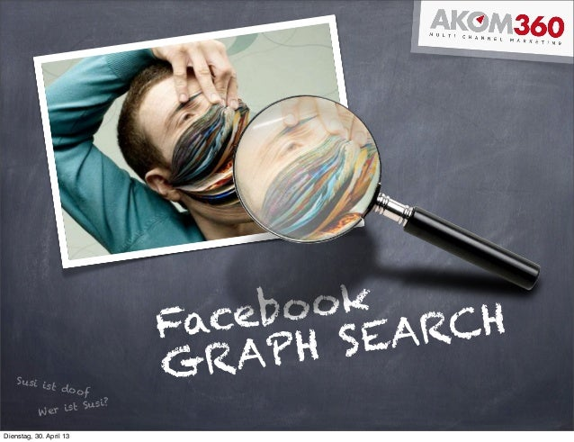 FacebookGRAPH SEARCHSusi ist doofWer ist Susi?Dienstag, 30. April 13