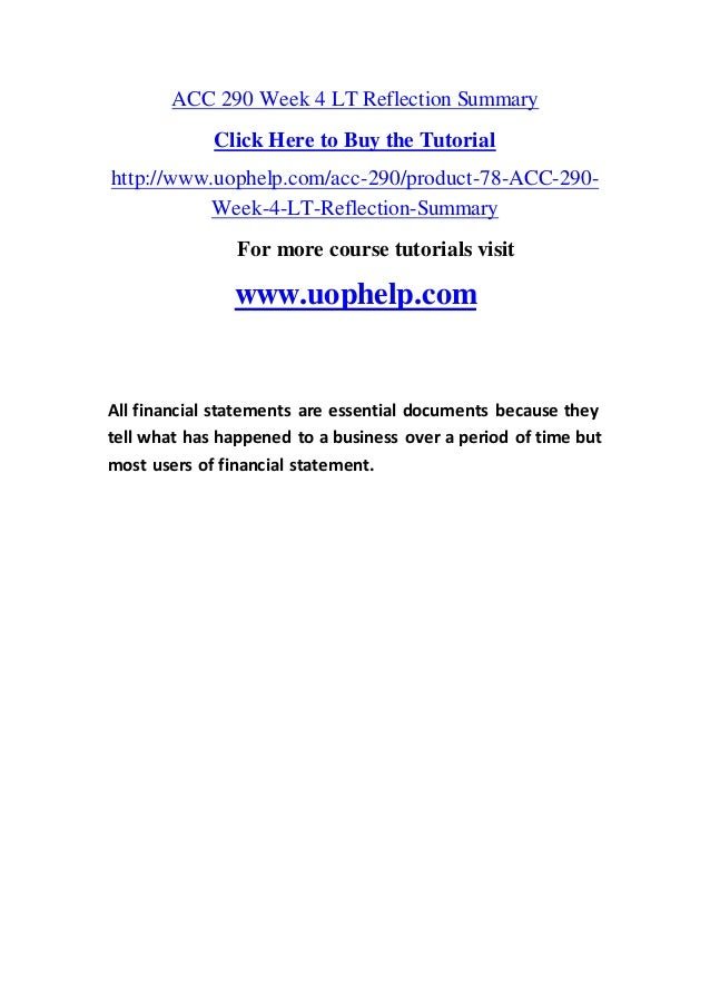 All Financial Statements Are Essential Documents Because They Tell Wh…
