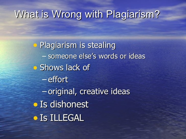 what is plagiarism and why is Last week, plagiarism became national news it got me thinking about the bigger picture of plagiarism, and why it is about more than simply borrowing so.