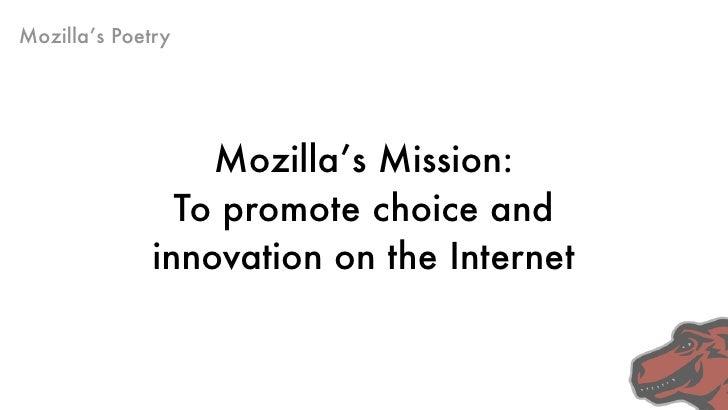 Mozilla's Poetry