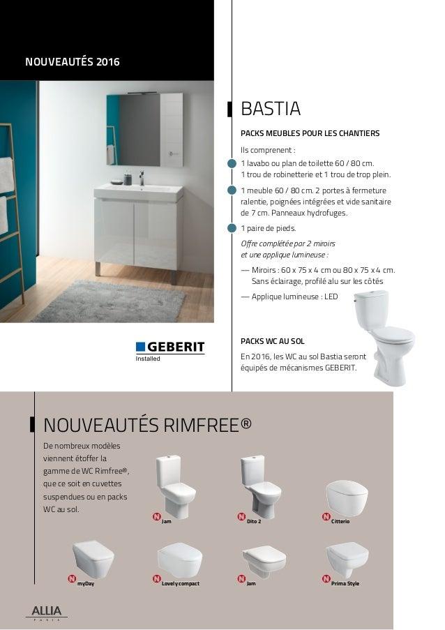 catalogue tarif allia 2016 salle de bains tarif pose salle de bain - Tarif Pose Salle De Bain