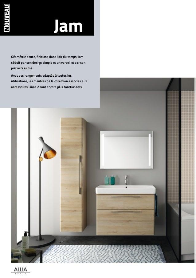 meuble salle de bain allia prix