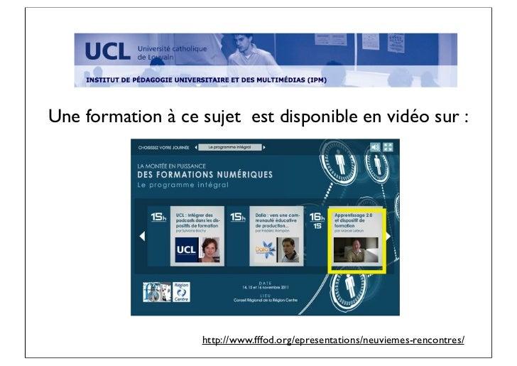 Une formation à ce sujet est disponible en vidéo sur :                   http://www.fffod.org/epresentations/neuviemes-ren...