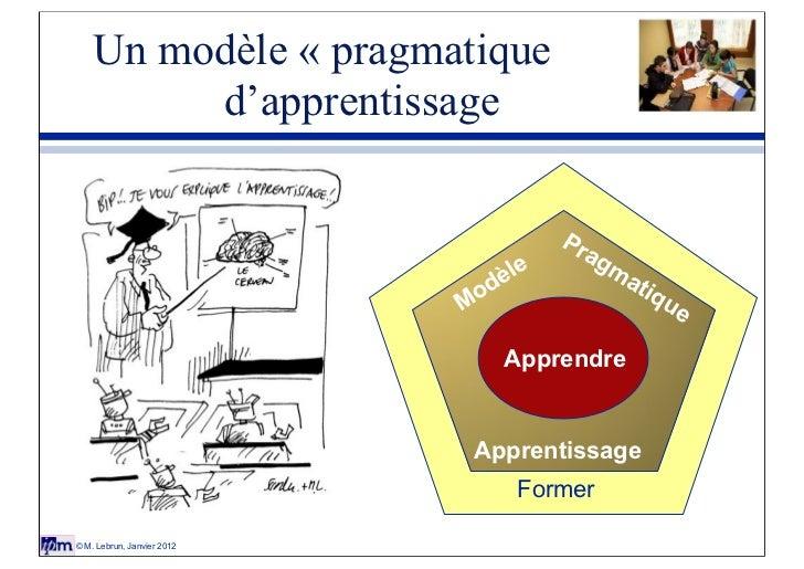 Un modèle « pragmatique         d'apprentissage                                         Pr                                ...