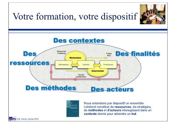 Votre formation, votre dispositif                             Des contextes   Des                                         ...