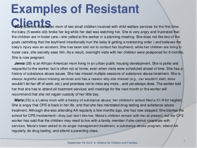 overview of child welfare essay