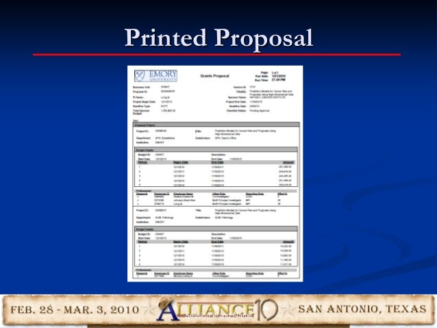 Printed Proposal 24Session #-and Name