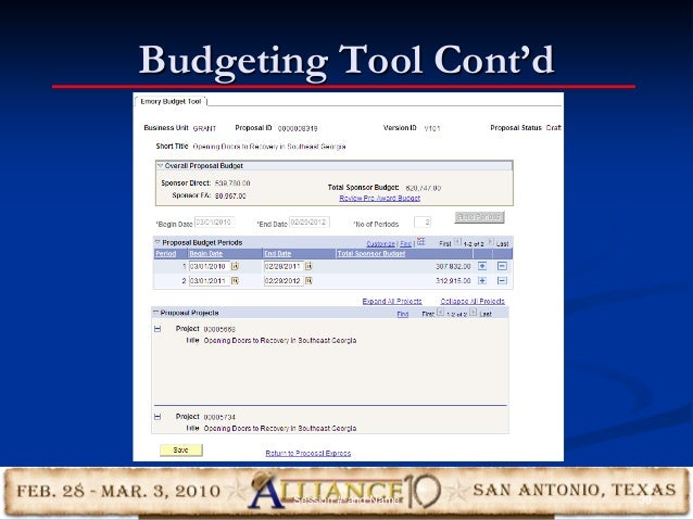 Budgeting Tool Cont'd 39Session #-and Name