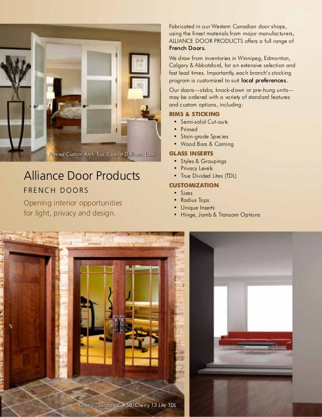 Nice ... E S I G N; 2. 2 Alliance Door Products ...