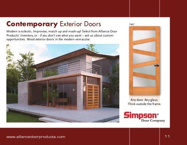 Contemporary Exterior Doors . & Alliance Doors Abbotsford u0026 Craftsman Look For Interior Doors ... pezcame.com