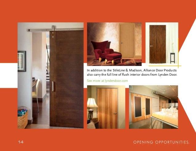 Attirant 49906 49905 49902 49901 49903 49908 4972 4974; 14. In Addition To The  StileLine Madison, Alliance Door Products ...