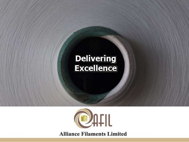 Alliance Filaments Limited is a leading manufacturer of Polyester yarns based in Surat, which is also known as the textile...