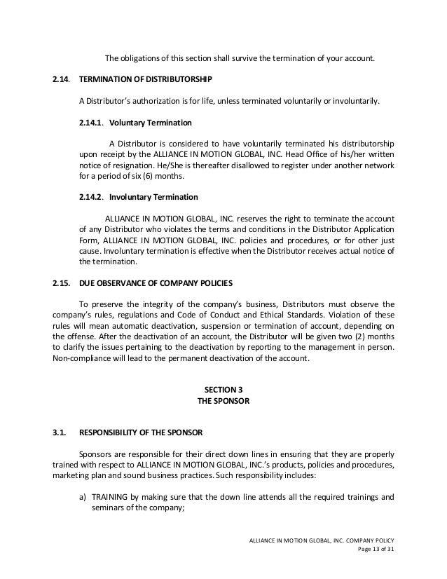 application letter for distributorship