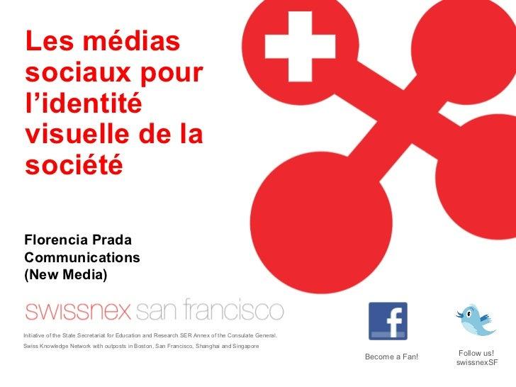 Les médias sociaux pour l'identité visuelle de la société Initiative of the State Secretariat for Education and Research S...