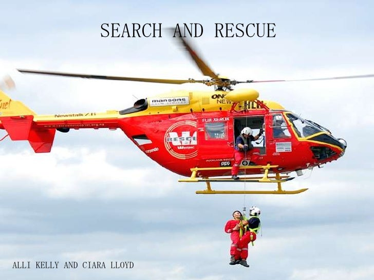 SEARCH AND RESCUEALLI KELLY AND CIARA LLOYD
