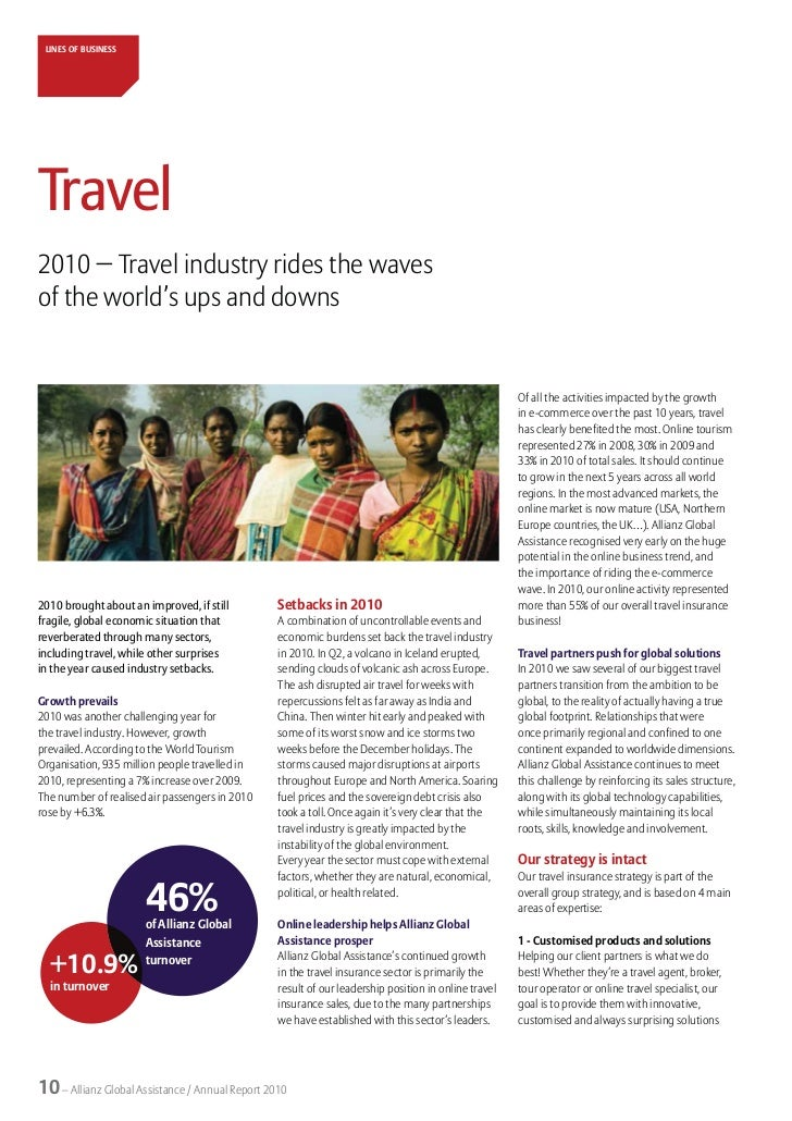 Allianz Global Assistance - Annual Report 2010
