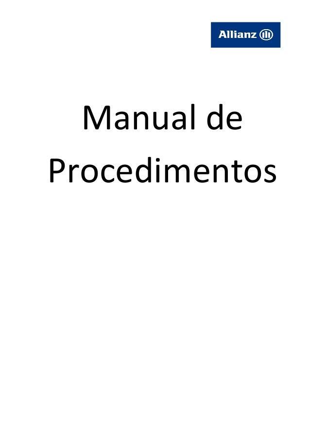 Manual deProcedimentos