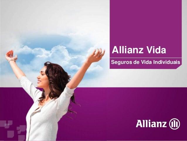 Allianz VidaSeguros de Vida Individuais