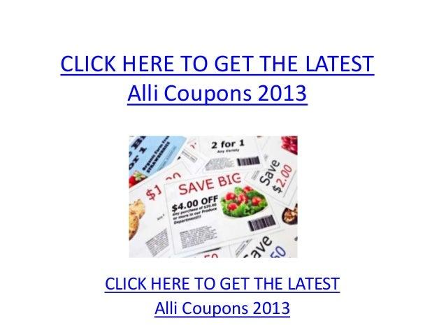 photo regarding Alli Coupons Printable known as Alli Discount coupons 2013 - Printable Alli Discount coupons 2013