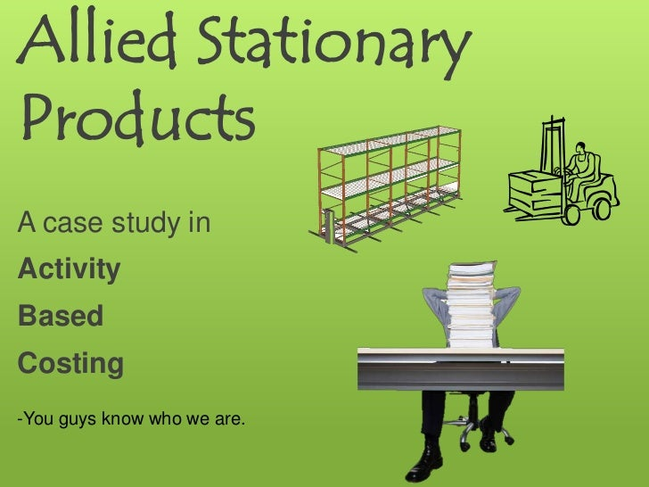Allied stationary products case